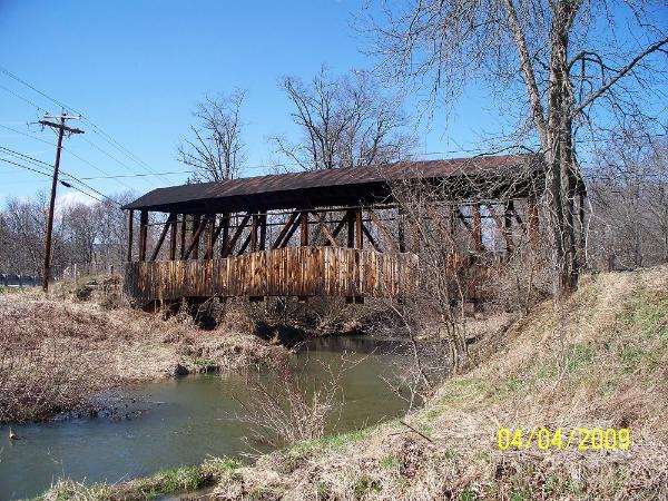 Cuppetts Covered Bridge 38-05-18 New Paris Bedford County Pa