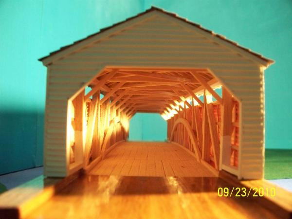 Zooks Mill Covered Bridge 38-36-14 Lancaster County Pa
